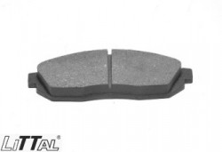 BRAKE DISC PAD MARUTI 800 (SET OF 4 PCS) (LITTAL)