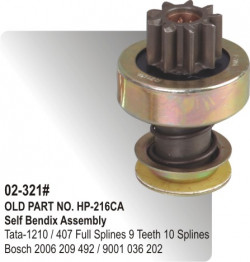 Self Bendix Tata-1210 / 407 Full Splines equivalent to 2006 209 492 / 9001 036 202 (HP-02-321#)