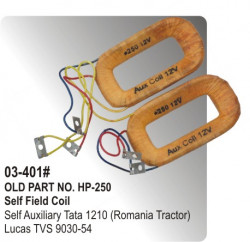 Self Field Coil Self Auxiliary Tata 1210 (Romania Tractor) equivalent to 9030-54 (HP-03-401#)