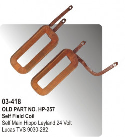 Self Field Coil Self Main Hippo Leyland 24 Volt equivalent to 9030-282 (HP-03-418)