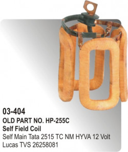 Self Field Coil Self Main Tata 2515 TC New Model HYVA 12 Volt equivalent to 26258081 (HP-03-404)