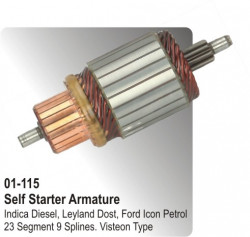 Self Starter Armature Indica Diesel, Leyland Dost, Ford Ikon Petrol equivalent to Visteon Type (HP-01-115)