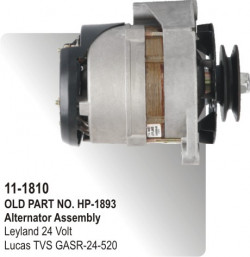 Alternator Assembly Leyland 24 Volt equivalent to GASR-24-520 (HP-11-1810)