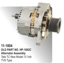 Alternator Assembly Tata TC New Model 12 Volt equivalent to TVS Type (HP-11-1804)