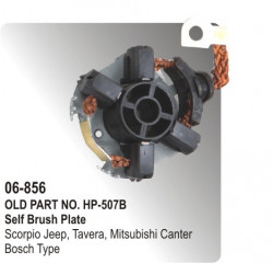 Self Brush & Rocker Plate Scorpio, Tavera, Mitsubishi Canter equivalent to Bosch Type (HP-06-856)