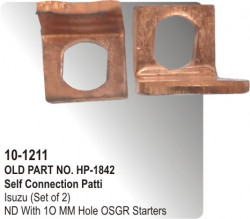 Self Connection Patti Isuzu (Set of 2) equivalent to ND With 1O MM Hole OSGR Starters (HP-10-1211)