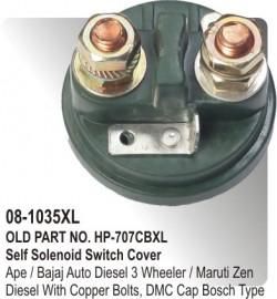 Self Solenoid Switch Cover Ape / Bajaj Auto Diesel 3 Wheeler / Maruti Zen Diesel equivalent to Bosch Type (HP-08-10