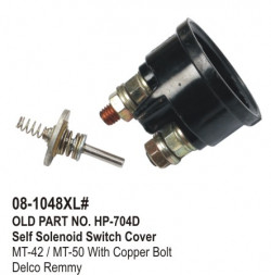 Self Solenoid Switch Cover MT-42 / MT-50 (Without Bolt) equivalent to Delco Remmy (HP-08-1048#)