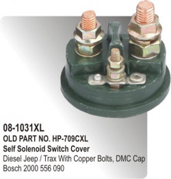 Self Solenoid Switch Cover Tata-407/ Trax equivalent to Bosch 2000 556 090 (HP-08-1031)