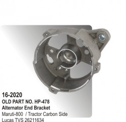 Alternator End Bracket Maruti-800 / Tractor Carbon Side equivalent to 26211634 (HP-16-2020)
