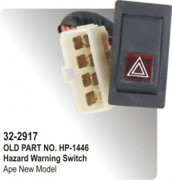 Hazard Warning Switch Ape New Model (HP-32-2917)