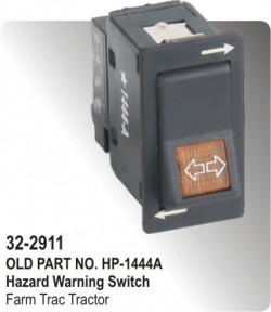 Hazard Warning Switch Farm Trac Tractor (HP-32-2911)