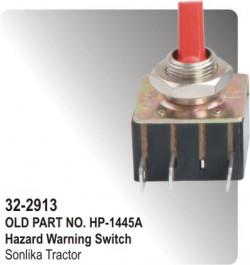 Hazard Warning Switch Sonalika Tractor (HP-32-2913)