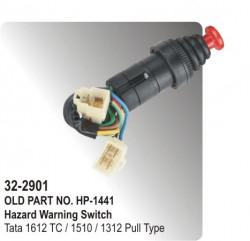 Hazard Warning Switch Tata 1612 TC / 1510 / 1312 Pull Type (HP-32-2901)