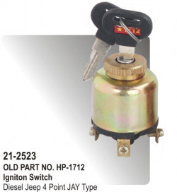 Ignition Switch Diesel Jeep 4 Point Chinese Type (HP-21-2523)