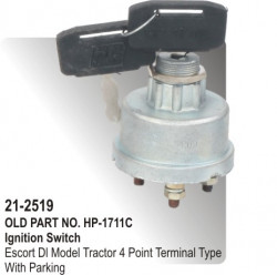Ignition Switch Diesel Jeep 4 Point JAY Type (HP-21-2519)