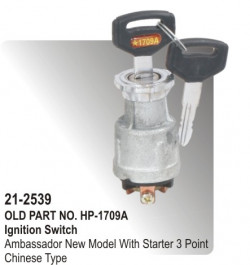 Ignition Switch Hl-2 Without Starter (For Four Wheeler) equivalent to (HP-21-2539)