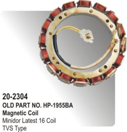 Magnetic Coil Minidor Latest 16 Coil equivalent to TVS Type (HP-20-2304)