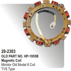 Magnetic Coil Minidor Old Model 8 Coil equivalent to TVS Type (HP-20-2303)