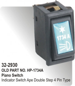 Piano Switch Indicator Switch Ape Double Step 4 Pin Type (HP-32-2930)