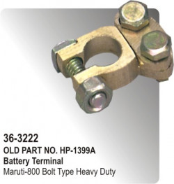 Battery Terminal Maruti-800 Bolt Type Heavy Duty (HP-36-3222)