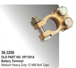 Battery Terminal Medium Heavy Duty 12 MM Bolt Type (HP-36-3206)