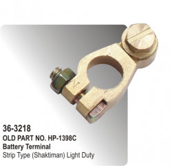 Battery Terminal Strip Type (Shaktiman) Light Duty (HP-36-3218)
