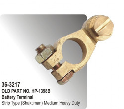 Battery Terminal Strip Type (Shaktiman) Medium Heavy Duty (HP-36-3217)