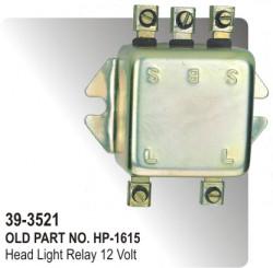 Head Light Relay 12 Volt (HP-39-3521)