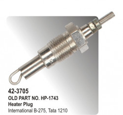 Heater Plug (Glow Plug)  International B-275, Tata 1210 (HP-42-3705)