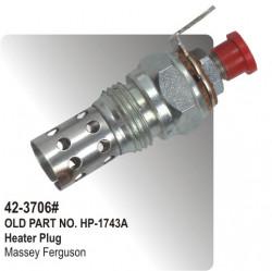 Heater Plug (Glow Plug)  Massey Ferguson   (HP-42-3706#)