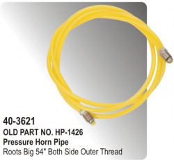 "Pressure Horn Pipe (Nylon) Roots Big 54"" Both Side Outer Thread (HP-40-3621)"