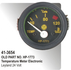Temperature Meter (Electronic) Leyland 24 Volt (HP-41-3654)
