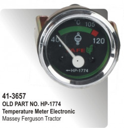 Temperature Meter (Electronic) Massey Ferguson Tractor (HP-41-3657)
