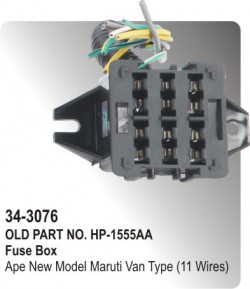 Buy fuse box for cars spare parts online at lowest price parts fuse box ape new model maruti van type 11 wires hp 34 cheapraybanclubmaster Image collections