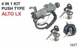 Lock Kit Alto LX (Set of 4) (Minda)