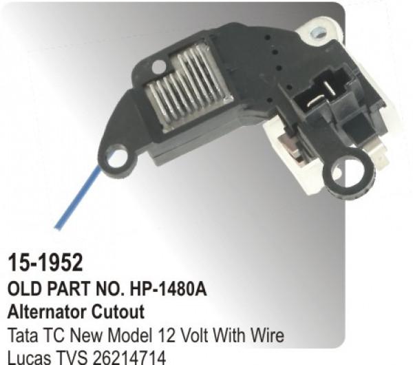Alternator Regulator Cutout Tata 4018 24 Volt Equivalent