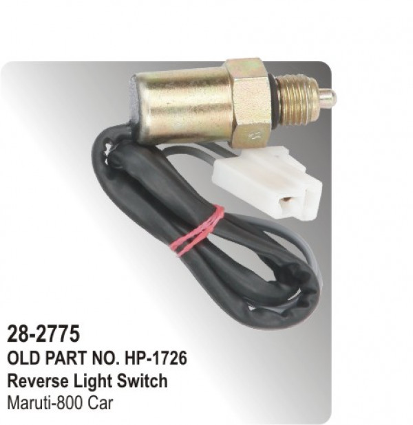 Reverse Light Switch Maruti 800 Car Hp 28 2775 For