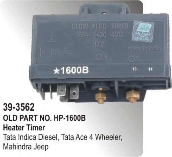 Heater Timer Electronic Tata Indica Diesel Tata Ace 4