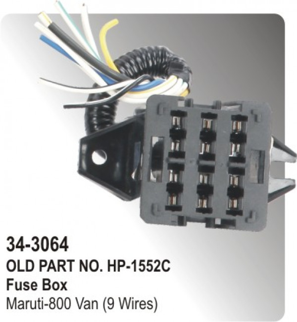 fuse_box_maruti_800_van_9_wires_hp_34_3064_ fuse box maruti 800 van (9 wires) (hp 34 3064) for maruti suzuki hyundai santro fuse box diagram at webbmarketing.co