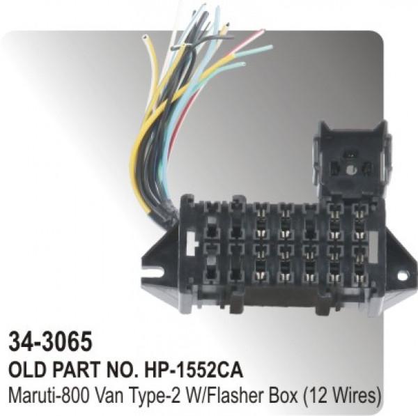 fuse_box_maruti_800_van_type_2_with_flasher_box_12_wires_hp_34_3065_ fuse box maruti 800 van type 2 with flasher box (12 wires) (hp 34 maruti omni fuse box location at panicattacktreatment.co