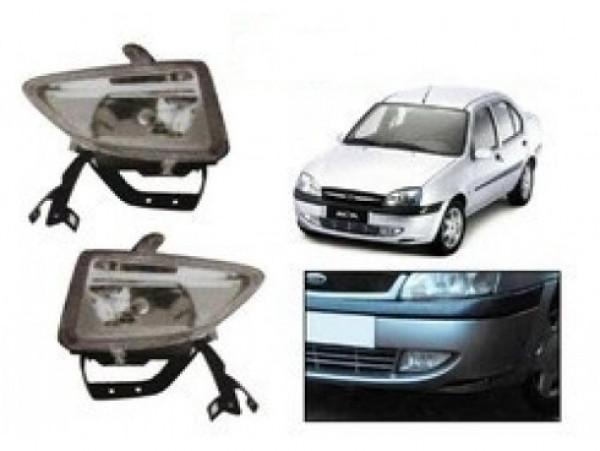 Globex Fog Light Lamp Assembly Ikon Flair With Bulb For Ford Ikon Parts Big Boss