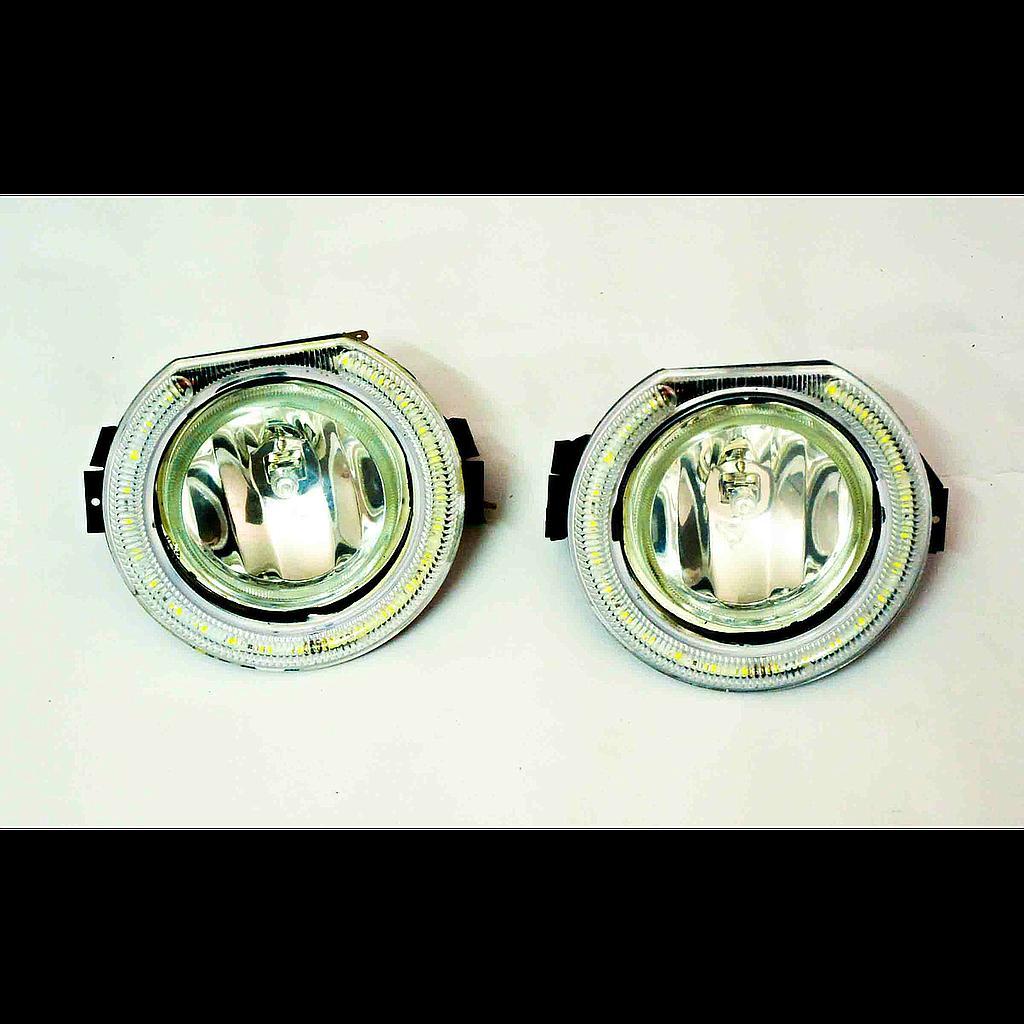 Fog Lamp Assembly Bolero Drl Autogold For Mahindra Parts Toyota Etios Fuse Box Location Big Boss