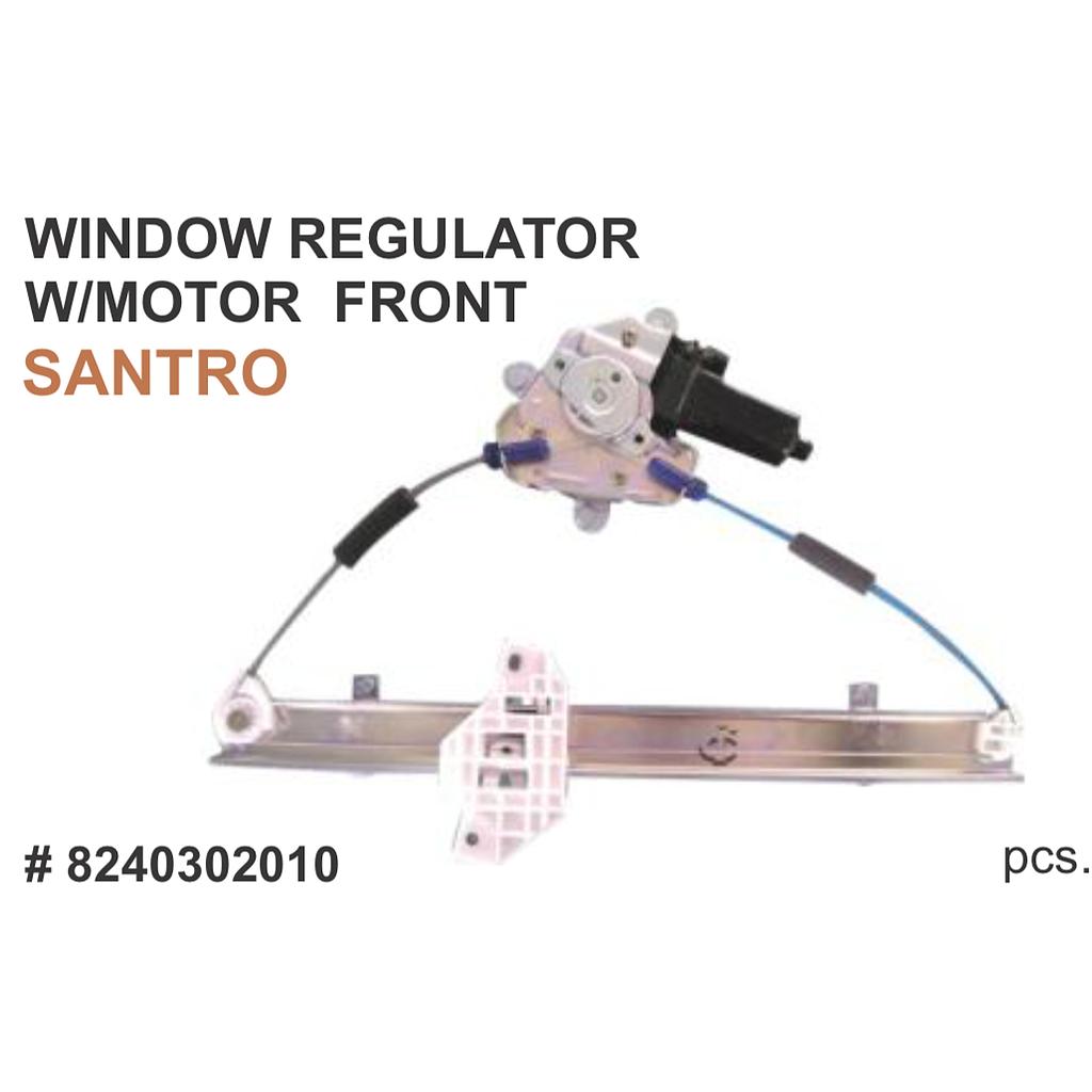 Power Window Regulator Santro / Santro Xing w/motor Front (RHS) for Hyundai  Santro, Santro Xing   Parts Big Boss